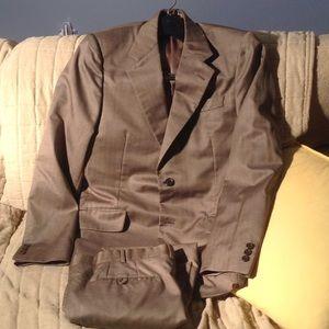 Excellent striped Prada suit